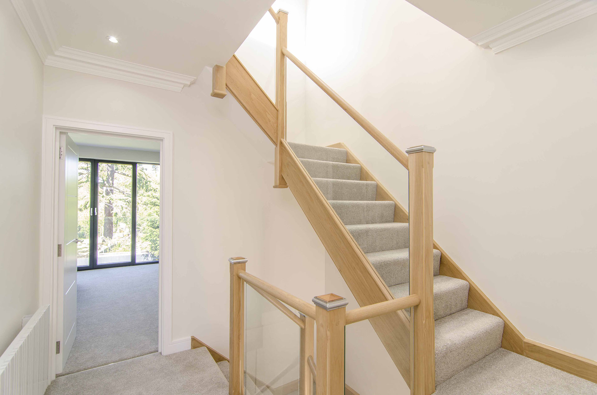 The House Photographer - NW Stairs - Property Photography