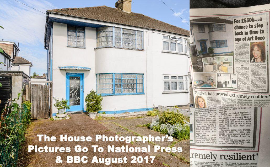 The House Photographer's photos go national